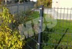 Gitterstabmatten-Zaun