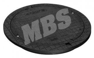 MBS Schachtabdeckung Kunststoff KlA
